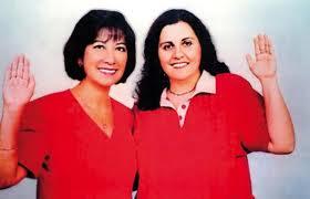 Martha Meier Miró Quesada y Martha Chávez, dos furibundas fujimoristas. Siameses.