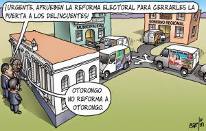 Carlin.  reforma de ley electoral