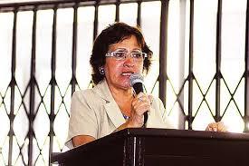 Carmela Sifuentes. cgtp
