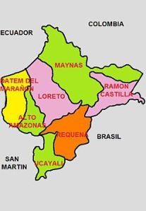 División_Politica_de_Loreto