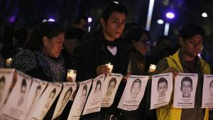 estudiantes asesinados en México