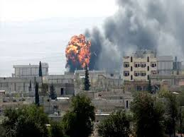 Kobane es atacado por el EI