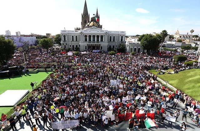 Mexico-marcha x estudiantes de Iguala