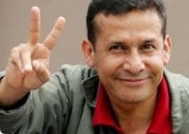 Ollanta Humala. Deditos
