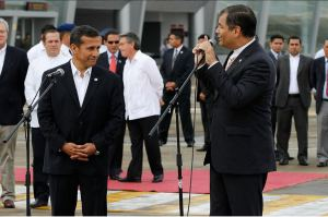Correa y Humala. 2