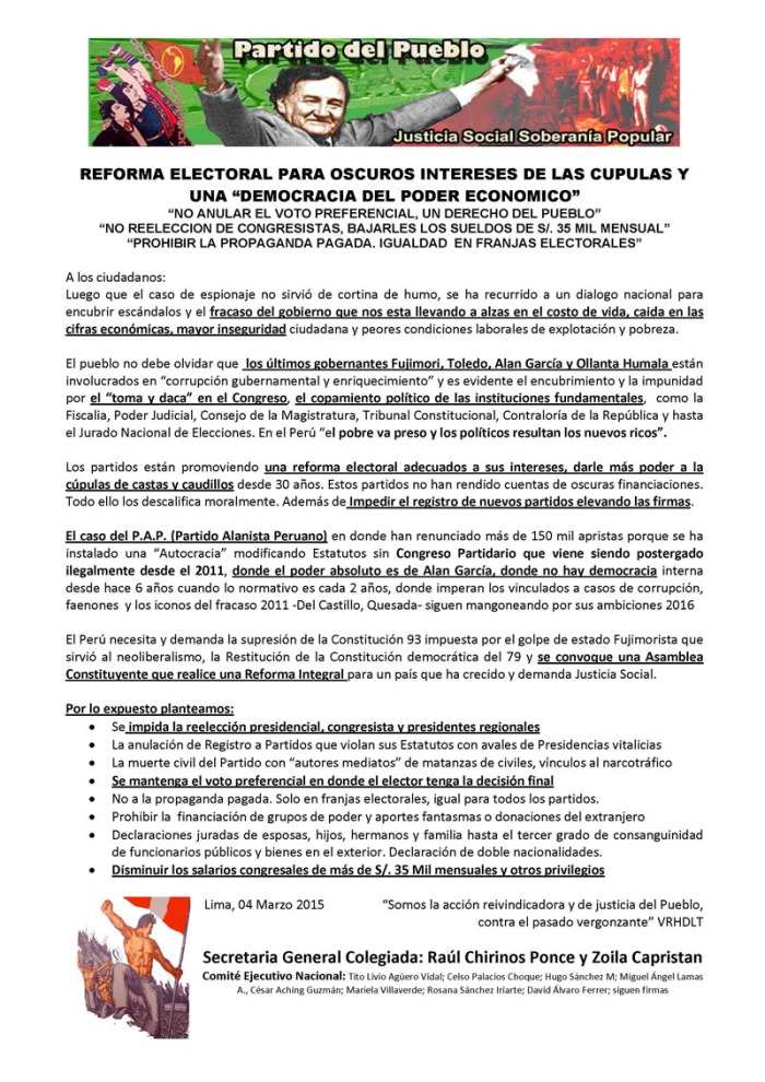 PDP_Comunicado