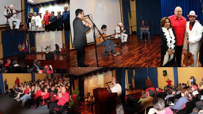 Embajada de Venezuela_homenaje a Manuelita Sáenz