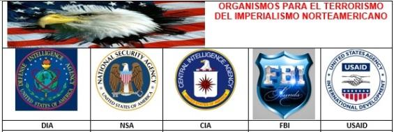 ogarnismos para el terrorismo del imperialismo norteamericano