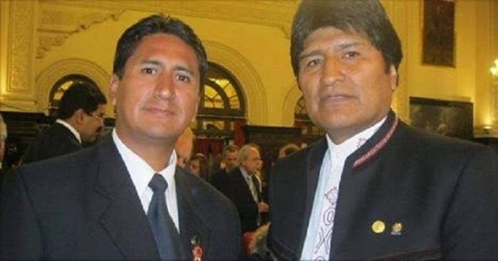 Vladimir Cerron-Evo Morales