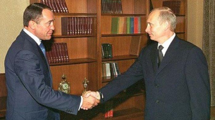 Vladimir Putin-Mikhail Yuriyevich Lesin