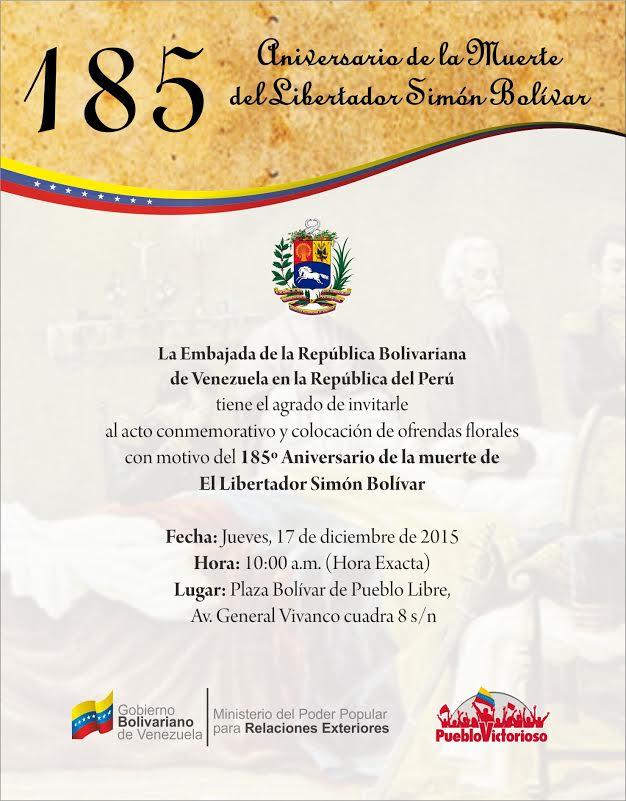 Embajada de Venezuela_Invitación